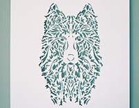 Hand cut Illustrations