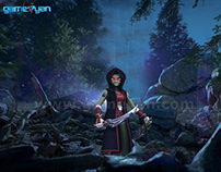 lotha 3d character by Game Development outsourcing
