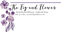 Project 5: The Fig and Flower