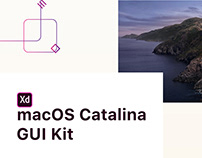 Adobe XD - macOS Catalina GUI Kit