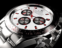 Rolex Daytona 3D Visualization