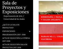 Sala de Proyectos | Universidad de los Andes