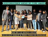 Posters for Awards won by Toastmasters Of Delhi