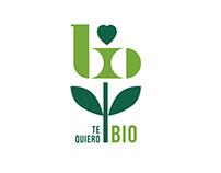 Diseño logotipo Te Quiero Bio