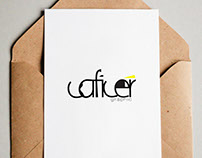 Caficer Graphic Design Logo
