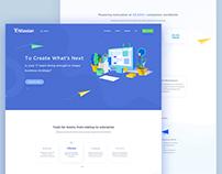 Atlassian || Landing Page.