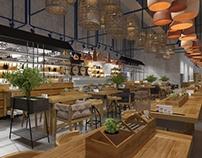 concept design restaurant La Placinte