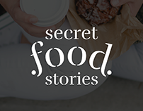 Secret Food Stories - Identidad