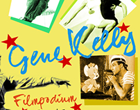 Gene Kelly Retrospective Series Poster - Filmpodium