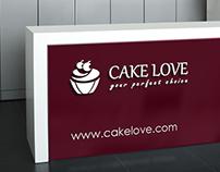 """Cake Love"" logo"