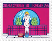 Stefan Sagmeister Postage Stamps