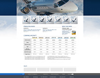 Embraer Executive Jets - Website Rebrand