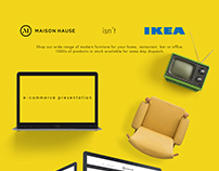 Furniture e-commerce |Интернет-магазин мебели