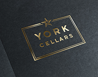 York Cellars: Logo and signage