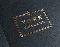 York Cellars: Logo and signage