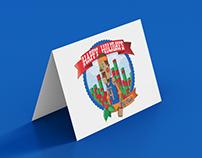 NY Knicks Holiday Card – Proposed