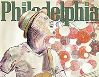 Philadelphia Magazine Cover: Philly Based Artists