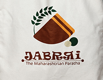 Jabrri | The Maharashtrian Paratha - Brand Identity