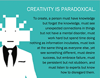 CREATIVITY IS PARADOXICAL
