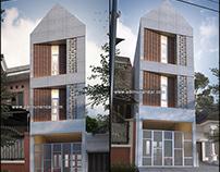 Desain Arsitektur Kos Karang Menjangan