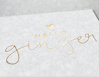 Branding + Logo Design: Hello Ginger