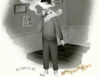 Put Cigarettes Out — Print Ad