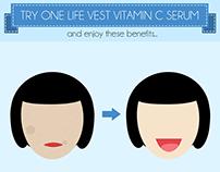 Fiverr Order: One Life Vest Vitamin C Serum