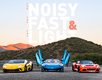 the NOISY, the FAST & the LIGHT