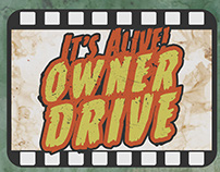 It's Alive! Owner Drive posters