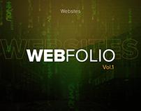 WEBFOLIO Vol.1