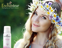 Enchanteur Beauty Products | Social Media Management