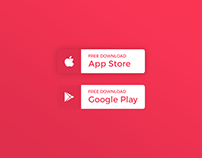 Daily UI | #074 | Download App