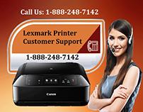 Lexmark Printer Customer Support 1-888-248-7142