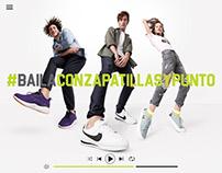 #BailaConZapatillasYPunto | Falabella