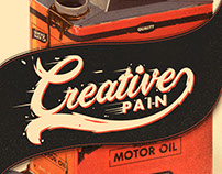 The Creative Pain: motor oil