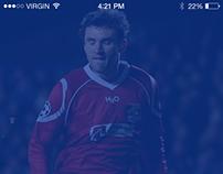 Soccer Team Score Mobile Application