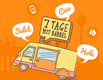 7 Days With Babbel Campaign