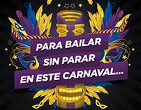 Carnaval Blancos y Negros