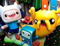 Adventure Time Falla Monument
