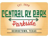 Logo for RV Park for Seniors