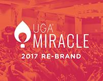 UGA® Miracle 2017 Rebrand