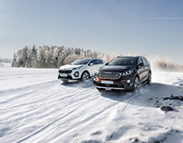 SUV Winter campaign