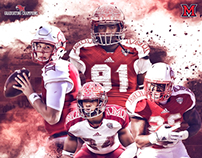 Miami (OH) Football Poster 2016