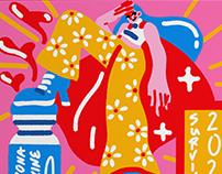 Corona Survivor Poster – Illustration