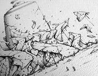 Spraycan - Drawing By Smer One 2017