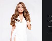 Website for artist, songer - Mogilevskaya