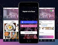 GO Places - Mobile UI Kit