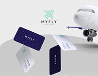 MYFLY - Branding and Packaging Design