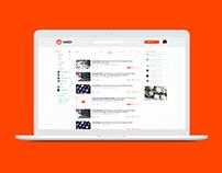 REDDIT - redesign plataforma desktop & mobile