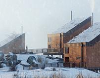 Cabin Cluster Ersfjord village,Norway / part 1